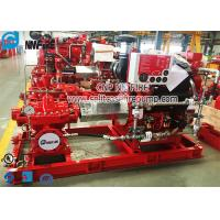 UL Listed And FM Approval Horizontal Split Case Fire Pump With Diesel Engine Manufactures