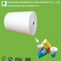 230+18gsm PE coated paper for paper cups Manufactures