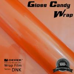 Gloss Candy Focus Orange Vinyl Wrap Film - Gloss Focus Orange Manufactures