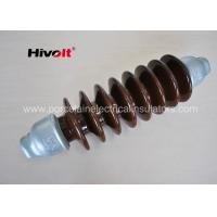 46 KV Station Post Insulators , Suspension Type Insulator Self Cleaning Manufactures