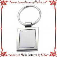 China Advertising Metal Blank Keychains on sale