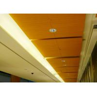 Quality Fire & Water proof Square Clip In Ceiling Tiles with Powder Coated for sale