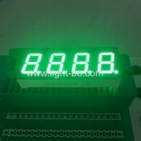 Buy cheap Four Digit 7 segment Numeric LED Display 0.4 inch pure green for temperature control from wholesalers