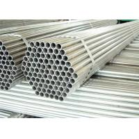 China Hot Dipped Round Steel Pipe / GI Pipe Pre Galvanized Steel Pipe Tube 5.8m 6m Length on sale