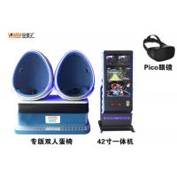2018 Top Sale 9d VR Electric 360 Seats VR Cinema Egg Simulator For Game Center Manufactures