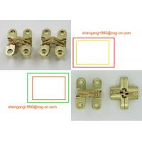 Brass / Gold 180 Degree Opening Invisible Hinge Soss Small Hinges SG-HC 104#1 Manufactures