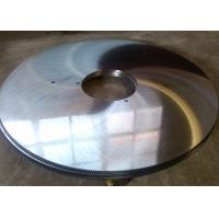 Angle steel and channel steel cutting 65Mn steel circular hot cut saw blade Manufactures