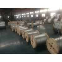 AISI ASTM BS DIN GB JIS Galvanized Stay Wire , Galvanized Guy Strand Wire For Construction Manufactures