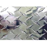 China Customized Aluminum Diamond Plate Sheets , 3003 Aluminum Plate For Storage Containers on sale