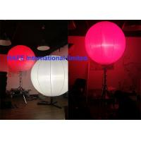 Quality High Bright Inflatable Holiday Decorations With Stainless Tripod And DMX Controler for sale