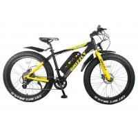 China 36 V 350w Powerful Electric Bike , Electric Snow Bicycle Smart Controller on sale
