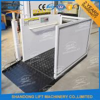Portable Handicap Lift Equipment Electric Vertical Residential Wheelchair Lifts For Home Manufactures