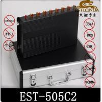 Power Adjustable Cell Phone Signal Jammer / cell phone Signal Booster Manufactures
