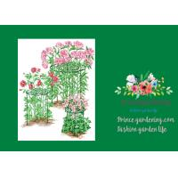 Mental Round Grow Through Plant Supports Keep Flowers Standing Tall Manufactures