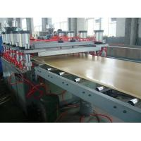 Quality High speed Foam Plate Plastic Sheet Extruder Machine 1000 - 2050mm width for sale