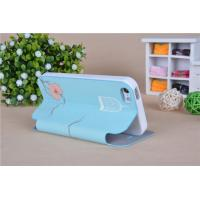 Smart stand PU leather and Soft TPU back case flip folio cover for Samsung iphone 5 Manufactures
