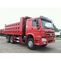 3 Axle HOWO 30 Ton Heavy Duty Dump Truck In Africa Euro 2 Manual Transmission Type Manufactures