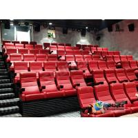 Customized Shopping Mall 4D Movie Theater With Ring Screen / Flat Screen Manufactures