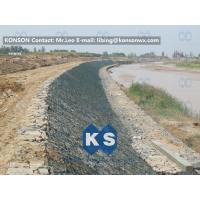 Large Stone Gabion Boxes / Gabions And Mattresses 80mm x 100mm 2.7mm Wire Dia Manufactures