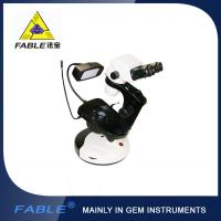 China Cup dolly Generation 2nd  Swing arm type Gem Microscope With F07 binocular lens on sale