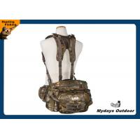 Waist Velvet Camo Hunting Backpack 800 Cubic Inches Capacity Camo Hunting Packs Manufactures