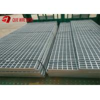 China Galvanized Steel Traffic Plates Expanded Metal Mesh , Serrated Bar Grating on sale