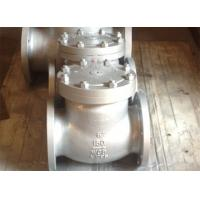 Bolted Cover Cast Stainless Steel Swing Check Valve API 6D ANSI B 16.25 CN7M Alloy 20 Manufactures