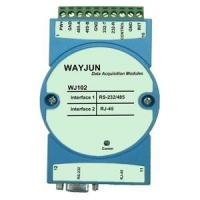 WAYJUN Modbus RTU to TCP , RS232/485 to Ethernet Module,blue Support AUTO MDI / MDIX DIN35 Manufactures