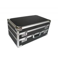 Double Opened Aluminum Hard Case With Black Diamond Panel Manufactures