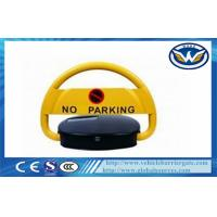 IP68 Waterproof Steel Automatic Remote Car Parking Locks in Yellow Manufactures