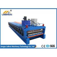 Quality PPGI GI Coil Glazed Tile Roll Forming Machine 0.3-0.8mm Sheet Thickness for sale