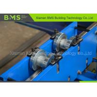 Shelf Step Beam Racking Roll Forming Machine With Saw Cutting Use For Storage Manufactures