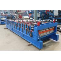 Galvanized Meatal double layer roofing sheet roll forming machine / double layer roof tile Manufactures