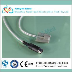 Reusable Schiller 7 pin Argus TM-7 spo2 sensor probe, 3m,10ft,CE&ISO Factory, Masimo module Manufactures