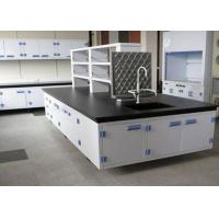 Heavy Duty School Lab Furniture , Grind Resistant Science Lab Tables With Sinks Manufactures