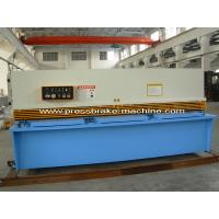 China Manual Hydraulic Shearing Machine Metal Cutting Shear With 3.2m Blade on sale