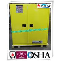 Vertical Corrosive Chemical Storage Cabinets 60 Gallon For Flammable Materials Manufactures