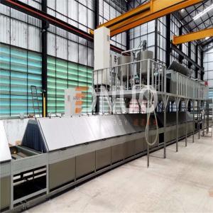 Intelligent Automatic FRP fiberglass multifunctional production line/FRP sheet/gel coat sheet/gutter making machine Manufactures