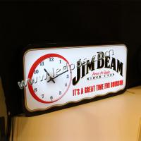 China JIM BEAM LED Sign with Clock wholesale