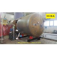 Buy cheap Double Drive 5Ton Conventional Welding Rotator With 0.1~1m/min Roller Linear from wholesalers