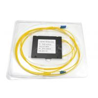 Fiber Optical with LC/UPC Connector 1X2 Optical Fiber PLC Splitters Manufactures