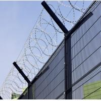 High Strength Durable Welded Mesh Fence For Gardens / Schools Eco - Friendly Manufactures