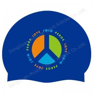 Quality Cheap Custom Silicone Swim Cap for sale