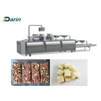 High Speed Low Noise Cereal Bar Forming Machine / Peanut Bar Molding Machine Manufactures