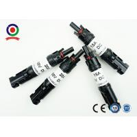 Quality Anti - Aging  PV Connectors With Diode Quick Connect For Field Installation for sale