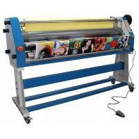 High Speed 1.6M Cold Roll Laminator Machine For Advertisement Materials Manufactures