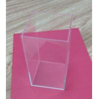 Retail Small Acrylic Tableware Transparent Shoe Boxes Without Lid For Storage Manufactures