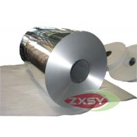 Heat Shield 8011 Soft Tin Aluminium Foil Roll For Sticker Paper Manufactures