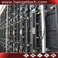 P4.81mm Outdoor Weather Proof HD Clear LED Video Wall Rental for Events in Canada Manufactures