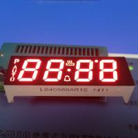 4 Digit 14.2mm 7 Segment Custom LED Display Ultra Red Oven Control Application Manufactures